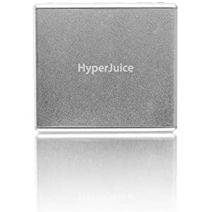 HyperJuice External Battery 60Wh for iPad/iPad 2 and MacBooks - Silver - MBP60
