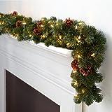 Corded LED Pre-lit Oregon Fir Christmas Garland