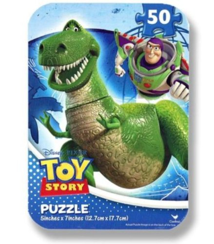Toy Story - 50 Piece Jigsaw Puzzle in Travel Tin - 1
