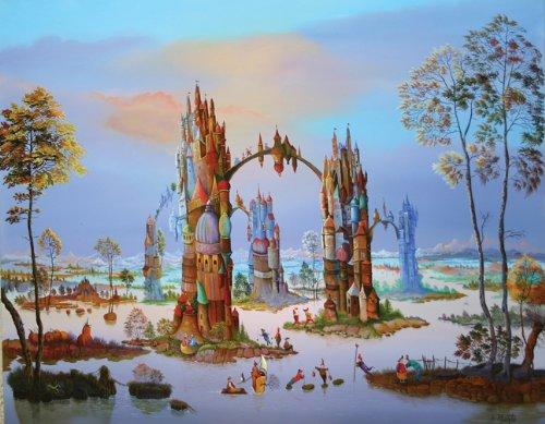 Artifact Puzzles - Isabelle Plante La Quintessence Wooden Jigsaw Puzzle