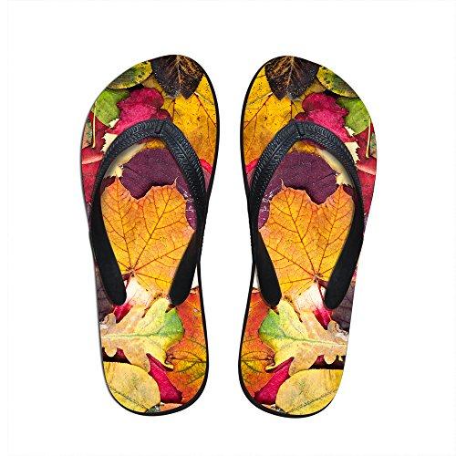 8a784714d964d For U Designs Classic Maple Leaves Print Simple Women Girls Summer V Flip  Flop slipper US