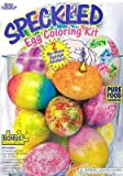 Speckled Egg Coloring Decorating Kit for Easter with Bonus Easter Puzzle !