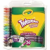 Crayola - Twistables Colored Pencils, 30 Assorted Colors/Pack 68-7409 (DMi PK