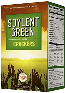 Soylent Green Crackers, 4.4-Ounce (Pack of 3)