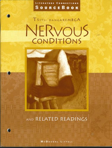 an analysis of nervous conditions by tsitsi dangarembga The thesis provides a feminist analysis of the zimbabwean women writer tsitsi dangarembga's novel, nervous conditions (1988), reading the novel as a critique of african patriarchy.