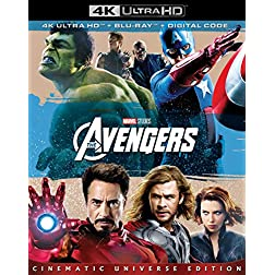 The Avengers [4K Ultra HD + Blu-ray]