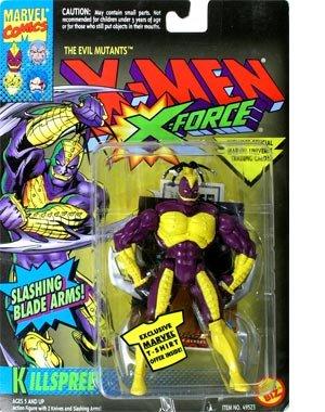"The Evil Mutants X-Men X-Force ""Killspree"" Action Figure"