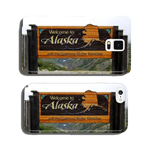 welcome-to-alaska-and-the-gateway-to-the-klondike-sign-cell-phone-cover-case-samsung-s5