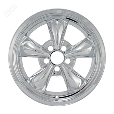 Coast To Coast IWCIMP316X 17 Inch Chrome Wheelskins With 5 Funnel Spokes - Pack Of 4