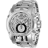 Invicta Men's 'Reserve' Quartz Stainless Steel Watch, Color:Silver-Toned (Model: 25208)