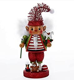 2015 Kurt Adler Holly Wood Adorable Elf Nutcracker by Kurt Adler Holly Wood