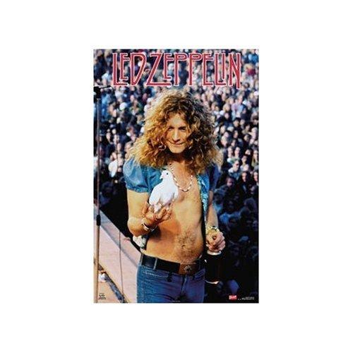 Led Zeppelin Poster Robert Plant Dove