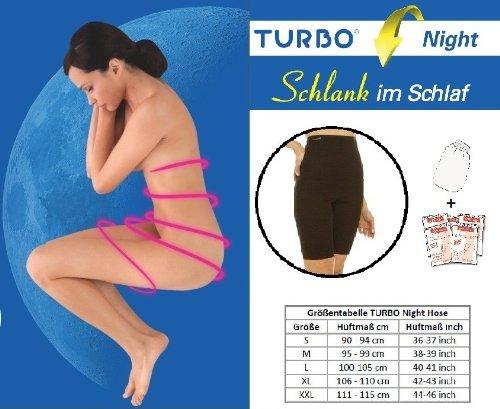 TurboCell Turbonight Pants Snellanotte (M, nudo, giro fianchi 96 - 100 cm)