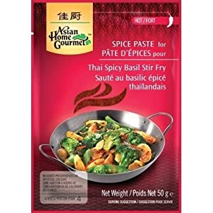 Thai Spicy Basil Stir Fry (Pad Kraphao) - [Pack of 12 Units]