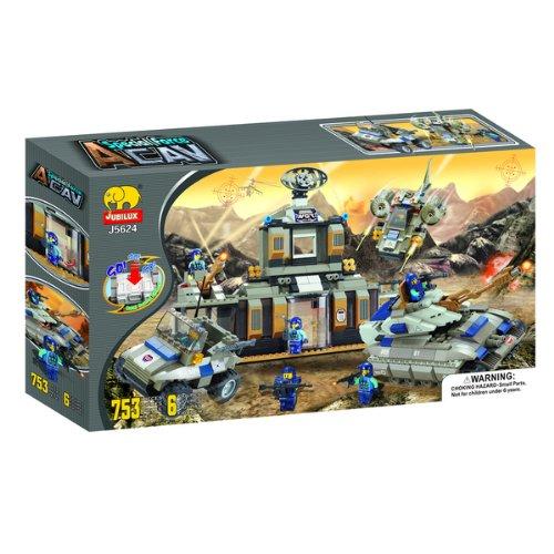 "Fun Blocks (Compatible With Lego) ""Peace Maker"" Brick Set A (753 Pieces)"