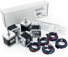 Comprar BQ Nema 17 Stepper Motors - Kit de motores Nema 17 con conector