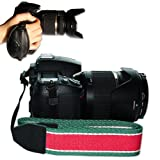 First2savvv new green neck strap for FUJIFILM FinePix HS20EXR FinePix S4000 FinePix S4080 FinePix S3400 FinePix S3300 FinePix S3200 FinePix S3280 FinePix S2900 series Fujifilm X-S1 + hand strap (osn0301)