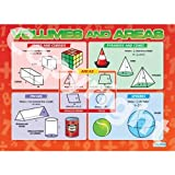 Volumes and Areas Maths Educational Wall ChartPoster in laminated paper A1 850mm x 594mm