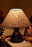 CRICULAR GROOVE TABLE LAMP