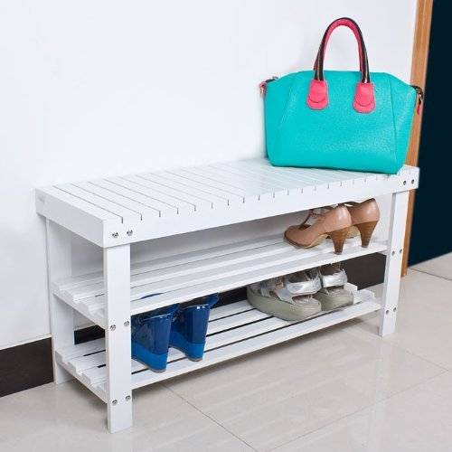 Sobuy 100 Natural Bamboo Shoe Rack Bench Seat With Storage Fsr05 L W Ebay