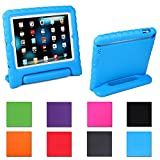 HDE Kids Light Weight Shock Proof Handle Case for iPad Mini / Mini 2 / Mini 3 / Retina (Blue)