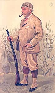 VABITY FAIR SPY CARTOON Sir RW Payne-Gallwey Bt. Game Hunting. 1893