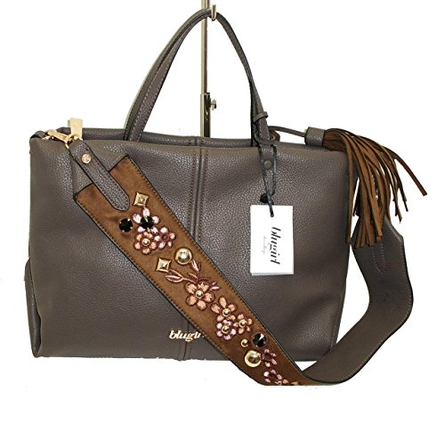 Borsa shopping media due manici BLUGIRL BG 830003 women bag MARRONE