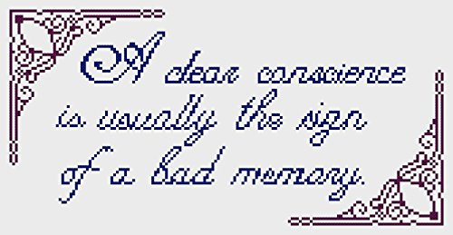 counted-cross-stitch-kit-a-clear-conscience-is-usually-the-sign-of-a-bad-memory
