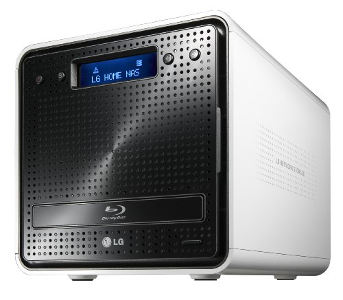 LG N2B1DD2 2 Bay Blu-ray Network Attached Storage 2TB