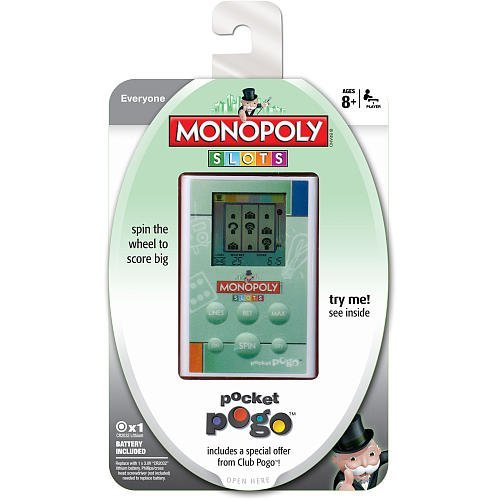 Monopoly Slots Pocket Pogo Handheld Electronic Game
