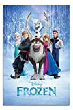 Frozen Disney Movie Cast Poster - 91.5 x 61cms (36 x 24 Inches)