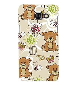 Cute Bear Wallpaper 3D Hard Polycarbonate Designer Back Case Cover for Samsung Galaxy A5 (2016) :: Samsung Galaxy A5 2016 Duos :: Samsung Galaxy A5 2016 A510F A510M A510FD A5100 A510Y :: Samsung Galaxy A5 A510 2016 Edition
