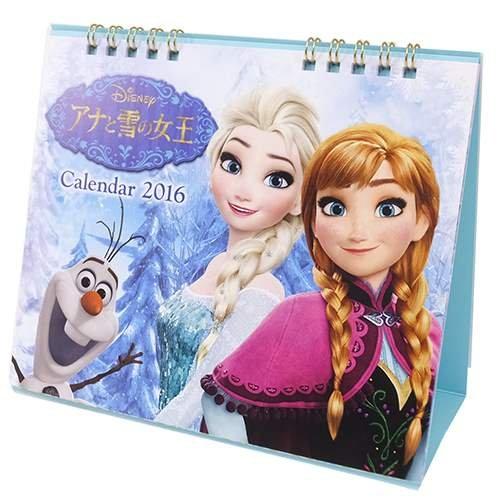 アナと雪の女王[2016 卓上カレンダー]カレンダー 2016年/スケジュール ディズニープリンセス