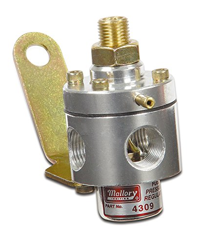 Mallory 29387 Adjustable Fuel Pressure Regulator (3-12PSI Carb) (110 Race Fuel compare prices)