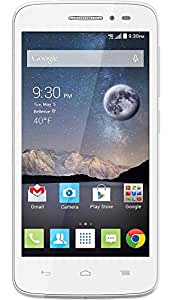 "Surya K fone 5"" Quad Core High Performance `Dual SIM Unlocked SIM Free Smart Phone White"