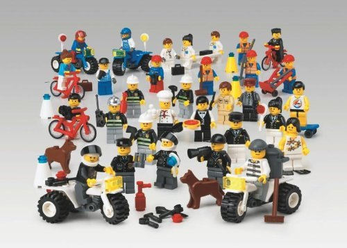 LEGO Education 9348 – Community Minifigures Set günstig als Geschenk kaufen