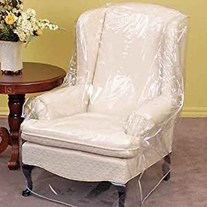 Furniture Protector Armchair Plastic Chair Cover