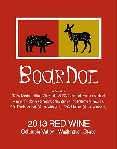 """2013 Tagaris Winery """"Boar Doe"""" Columbia Valley Bordeaux Red Blend 750 Ml"""