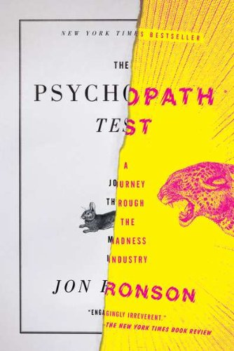 an analysis of the authors exploration of the world of psychopathy in the psychopath test a journey  Or translator of the instrument was an author factor analysis of the psychopathy checklist the psychopath test: a journey through the.