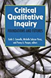 "BOOKS RECEIVED: Cannella, and Salazar Perez, and Pasque, eds., ""Critical Qualitative Inquiry: Foundations and Futures"" (Left Coast Press, 2015)"