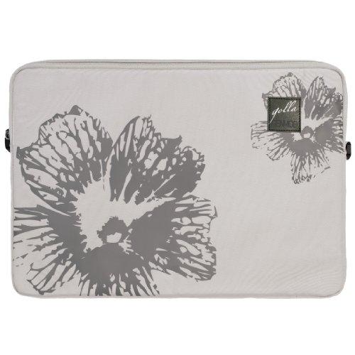 Golla Goldie G1300 Notebook-Sleeve bis 44 cm (17,3 Zoll) hellgrau