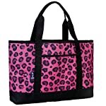 Wildkin Leopard Tote-All Bag, Pink, One Size