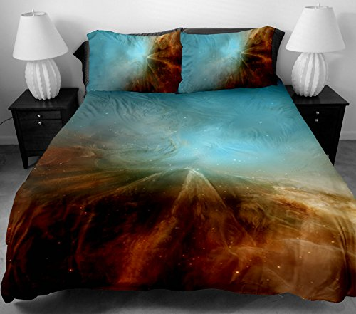 Anlye Diy Home Decor Design Bedding Set 2 Sides Printing 3D The Visual Effect Of The Sky Bed Sheets With 2 Body Pillow Case Twin front-667445