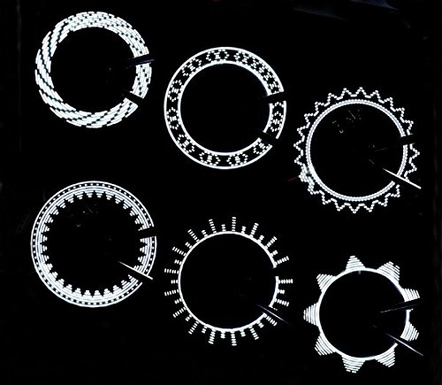 Waterproof Bike Cycling Bicycle Wheel Tyre Tire Valve Cap Light Lamp Led Flash 15 Changes 1-Pack
