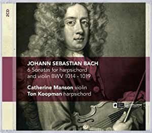 J.S. Bach: 6 Sonatas for Harpsichord and Violin, BWV 1014-1019