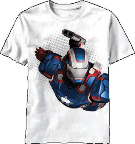 Patriot Flyer -- Iron Patriot -- Iron Man 3 Movie Youth T-Shirt