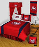 NHL Montreal Canadiens Hockey Team Queen-Full Comforter Set