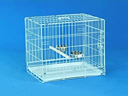 Bird Transport Cage - Large Transport Cage by BirdCages4Less