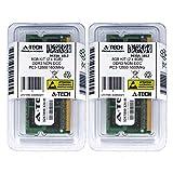 8GB Kit (4GBx2) DDR3 PC3-12800 LAPTOP Memory Modules (204-pin SODIMM, 1600MHz) Genuine A-Tech Brand
