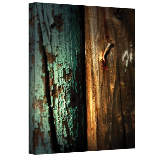 Art Wall Wood and Nail Wrapped Canvas Art by Mark Ross, 14 by 18-Inch